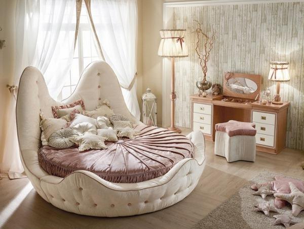 احلي-صور-سرير-دائري-