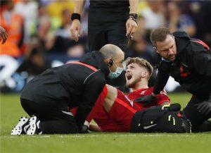 إصابة هارفي مهاجم ليفربول